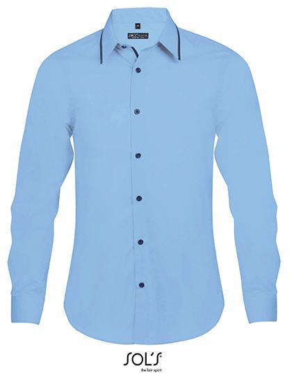 Long Sleeves Fitted Shirt Baxter Men
